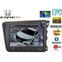 "HONDA CIVIC FB 2012 - 2015: DLAA 8"" Double Din DVD GPS + Camera + TV Antenna"