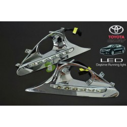 TOYOTA CAMRY XV-50 2012 - 2015 3 in 1 LED Day Time Running Light DRL + Auto Dimmer + Auto On Fog Lamp Cover