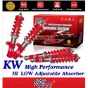 (Most Cars) KW GERMANY Comfort Sport Hi-Low Coilovers Adjustable Absorber Made in Germany