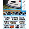 TOYOTA, NISSAN, PERODUA, PROTON SAXO ABS Rear Guards Car Bumper Trunk Protector Foot Plate