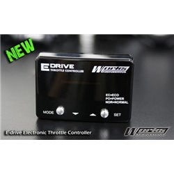 MOST CARS WORKS ENGINEERING USA 16 Step E-Drive Throttle Controller (Sport, Normal & Eco Mode) Save Fuel & Increase Toque