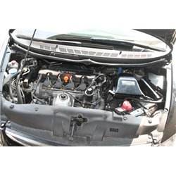 HONDA CIVIC FD 1.8 2006 - 2011: SIMOTA AERO FORM II Carbon Fiber Air Filter Intake System with Full Piping [PTS-113]