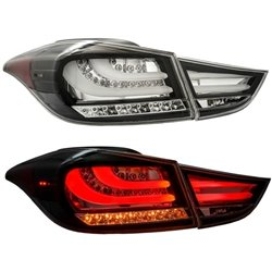 HYUNDAI ELANTRA MD 2011 - 2015 EAGLE EYES F-Style Clear LED Light Bar Tail Lamp [TL-193-3]