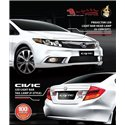HONDA CIVIC FB 2012 - 2015: EAGLE EYES U-Concept Daylight Projector Head Lamp [HL-145] +  F-Style LCI LED [TL-201]