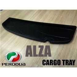 PERODUA ALZA: ORIGINAL ABS Rubber Anti Non Slip Rear Trunk Boot Cargo Tray Made in Malaysia