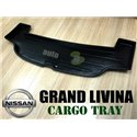 NISSAN GRAND LIVINA 2006 - 2012: ORIGINAL ABS Rubber Anti Non Slip Rear Trunk Boot Cargo Tray Made in Japan (AL)