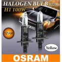 OSRAM 3000K H1 100W Halogen Bulb Per Pair Made In Germany [62200]