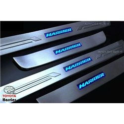 TOYOTA HARRIER XU30 RX330/ RX350 2003 - 2008 Stainless Steel Side Sill Step Plate (KS1)