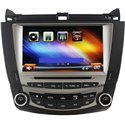 "HONDA ACCORD 2.4/ 3.0 2003 - 2007 8"" Full HD Double Din GPS DVD VCD MP3 CD USB SD Bluetooth TV Player Free Camera & TV Antenna"
