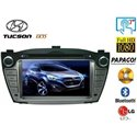"HYUNDAI TUCSON IX35 2010 - 2016 DLAA 7"" Double Din GPS DVD VCD DIVX MP3 Bluetooth USB SD CD Player Free Camera & TV Antenna"
