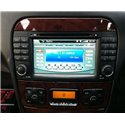 "MERCEDES BENZ W220 S-Class 1999 - 2005 DLAA 7"" Double Din GPS DVD MP3 CD USB SD Bluetooth TV Player Free Camera & TV Antenna"