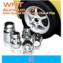 WHT 1.5mm T7 Aluminium Billet Special Wheel Lock Nut 4 Pcs