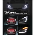 PROTON EXORA L-Style DRL LED Light Bar Projector Head Lamp Made in Malaysia [178]