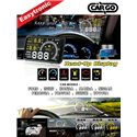"Most Cars ZIIIRO 5.5"" OBD2 HUD Head Up Display KM/h & MPH, Speeding Warning & Fuel Consumption Display [ZR-W02]"