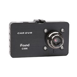 iFOUND C506 DVR Driving Video Recorder 1080px Full HD Motion Detector, G-Sensor & IR Night Vision