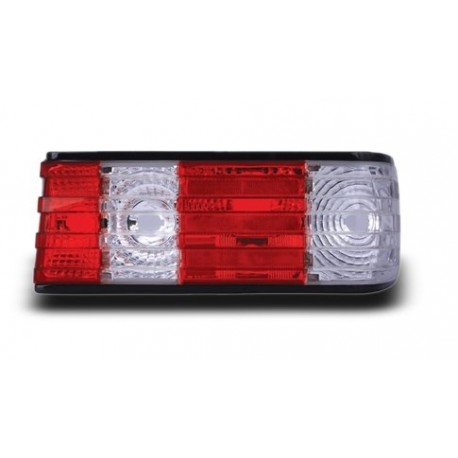 EAGLE EYES MERCEDES-BENZ S-W126 '86 - '91 CLEAR/RED Crystal Tail Lamp [TL-018-BENZ]