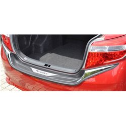 TOYOTA VIOS 2013 - 2016 Chrome ABS Rear Guards Car Bumper Trunk Protector Foot Plate [RS-6006]