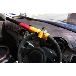 ORIGINAL TYPE-R Baseball Safety Guard Tempered Steel Shaft Steering Wheel Lock [TR-68]
