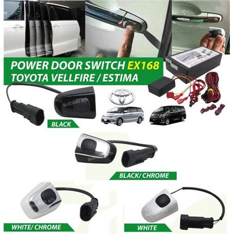 TOYOTA VELLFIRE, ALPHARD ANH20 2008 - 2014, ESTIMA ACR50 2006 - 2016 Slide Power Door Handle Switch Auto Sensor Button