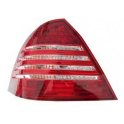 MERCEDES BENZ W203 C-Class 2000 - 2007 EAGLE EYES RED/ CLEAR Crystal Tail Lamp [TL-005-BENZ]