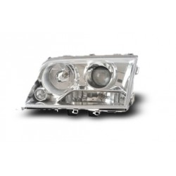 MERCEDES BENZ W202 C-Class 1994 - 1999 EAGLE EYES Chrome Projector Head Lamp [HL-014-BENZ]