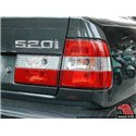 BMW E34 5-Series 1988 - 1994 EAGLE EYES RED CLEAR Crystal Tail Lamp [TL-007-BMW]