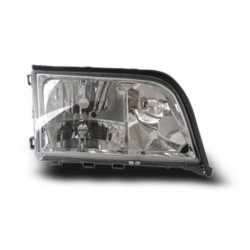 MERCEDES BENZ W140 1994 - 1998 EAGLE EYES Crystal Head Lamp + Corner Lamp [HL-009-BENZ]