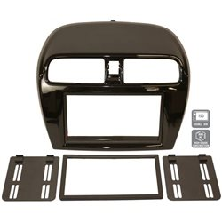 MITSUBISHI MIRAGE/ ATTRAGE 2012 - 2016 WISDOM HOLY Double Din Casing Panel