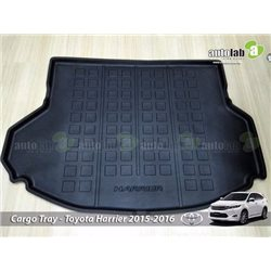 TOYOTA HARRIER 2014 - 2016 ABS Rubber Anti Non Slip Rear Trunk Boot Cargo Tray (S1)