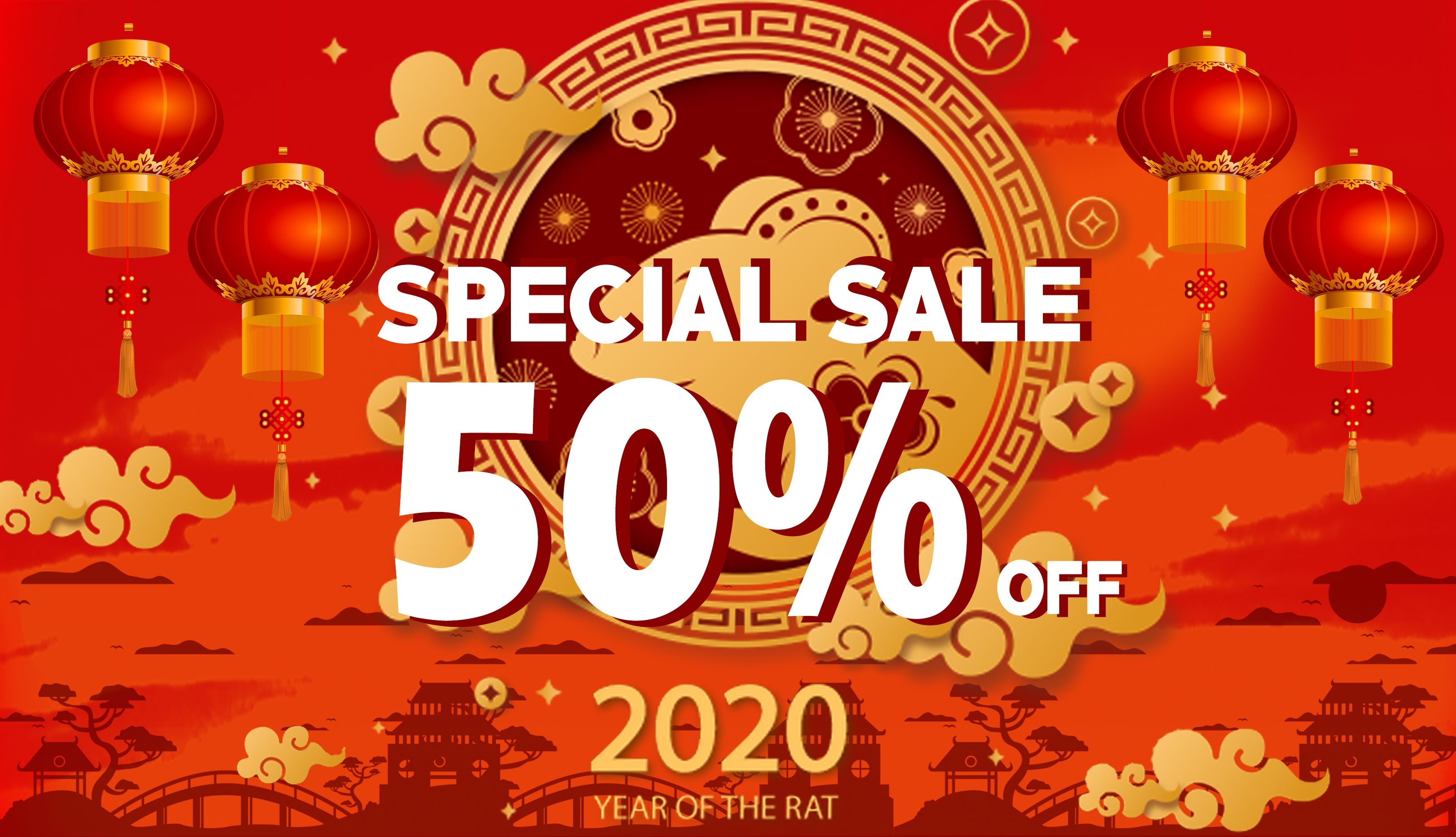 MaxAudio - Chinese new year sale